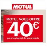 Offre de Remboursement Motul : Jusqu'à 40€ remboursés sur vos produits - anti-crise.fr