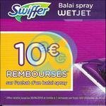 Offre de Remboursement Swiffer : 10€ sur Balai Spray Wetjet - anti-crise.fr