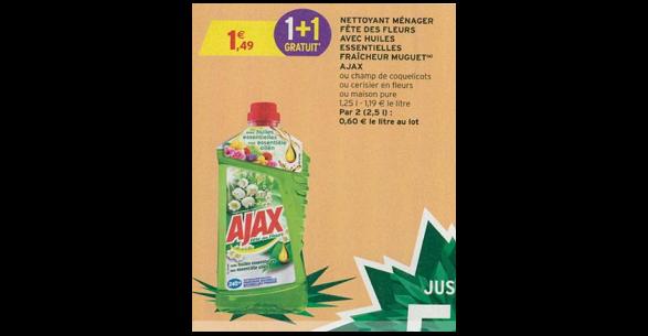 Bon Plan Nettoyant Ajax chez Intermarché (30/01 - 11/02) - anti-crise.fr