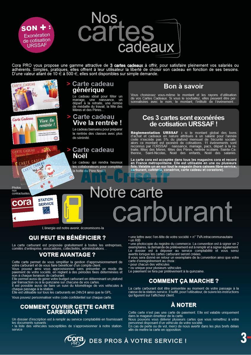 Carte Cora Opposition.Catalogue Cora Du 1er Janvier Au 31 Decembre 2018 Cora Pro