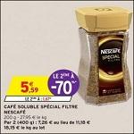 Bon Plan Café Soluble Nescafé chez Intermarché anti-crise.fr