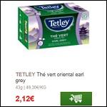 Bon Plan Thé Vert Tetley Partout - anti-crise.fr