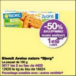 Bon Plan Biscuits Avoine Nature Nutri+ Bjorg chez Monoprix - anti-crise.fr