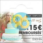Offre de Remboursement Sans Complexe : Jusqu'à 15€ Remboursés - anti-crise.fr