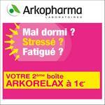Offre de Remboursement Arkopharma : 2ème Boîte Arkorelax à 1€ - anti-crise.fr