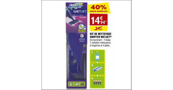 Bon Plan Balai Spray Swiffer Wetjet chez Atac - anti-crise.fr