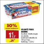 Bon Plan Yaourts Velouté Fruix Danone chez Atac - anti-crise.fr