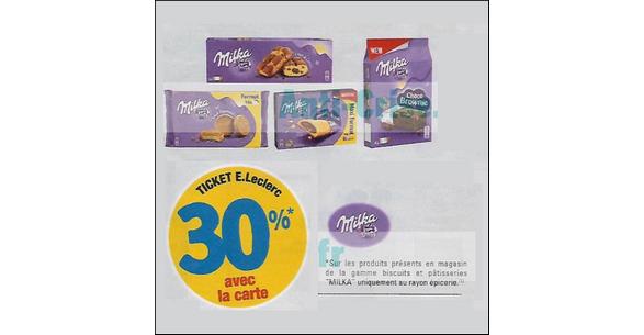 Bon Plan Cookies Milka chez Leclerc - anti-crise.fr