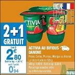 Bon Plan Activia Fruits chez Carrefour Market (20/02 - 28/02) - anti-crise.fr