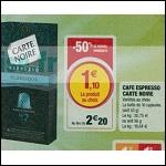 Bon Plan Capsules de Café Carte Noire chez Magasins U (27/02 - 03/03) - anti-crise.Fr