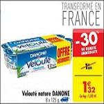 Bon Plan Yaourts Velouté Danone chez Carrefour (26/02) - anti-crise.fr