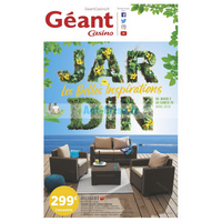 Catalogue Géant Casino du 3 au 28 avril 2018 (Mobilier de Jardin ...