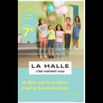 Catalogue La Halle du 4 au 23 avril 2018