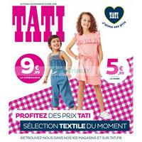 Catalogue Tati du 3 au 15 avril 2018 (Mode) Catalogues
