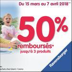 Offre de Remboursement Ravensburger : 50% Remboursés jusqu'à 3 Produits - anti-crise.fr