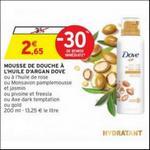 Bon Plan Mousse de Douche Surgras Dove chez Intermarché - anti-crise.fr