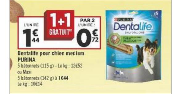 Bon Plan Purina Dentalife chez Géant Casino - anti-crise.fr