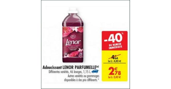 Bon Plan Lenor Adoucissant chez Carrefour - anti-crise.fr
