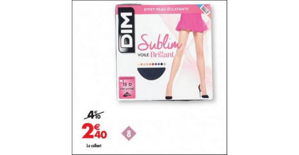 Bon Plan Collants Sublim Dim chez Carrefour - anti-crise.fr