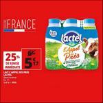 Bon Plan Lait Lactel L'Appel des Prés chez Auchan - anti-crise.fr