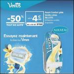 Bon Plan Rasoir Vénus de Gillette chez Géant Casino - anti-crise.fr