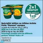 Bon Plan Activia Fruits Danone chez Monoprix - anti-crise.fr