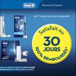 Offre de Remboursement Oral-B : Brosse à Dents Electrique Satisfait ou 100% Remboursé - anti-crise.fr