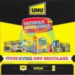 Offre de Remboursement UHU : Produit Bricolage Satisfait ET 100% Remboursé - anti-crise.fr