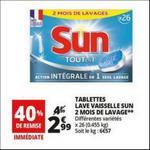 Bon Plan Pastilles Sun chez Auchan - anti-crise.fr