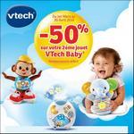 Offre de Remboursement VTech : 50% Remboursés sur le 2ème Jouet Baby - anti-crise.fr