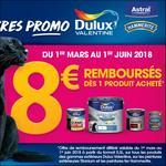 Offre de Remboursement Dulux Valentine : 8€ Remboursés sur Peintures Extérieur - anti-crise.fr