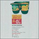 Bon Plan Yaourts Activia chez Auchan Supermarché (07/03 - 18/03) - anti-crise.fr