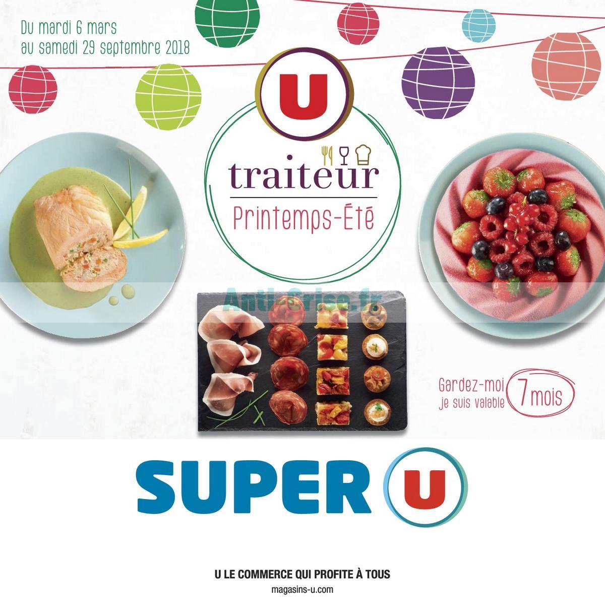 carte traiteur super u Catalogue Super U du 6 mars au 29 septembre 2018 (Traiteur