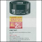 Bon Plan Cire Taft chez Auchan Supermarché (07/03 - 18/03) - anti-crise.fr