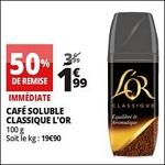 Bon Plan Café Soluble L'Or chez Auchan (18/04 - 24/04) - antti-crise.fr