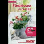 Catalogue Simply Market du 2 au 6 mai 2018 (Fleurs)
