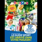 Catalogue Toys R Us du 25 avril au 13 mai 2018 (Guide Sport)