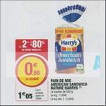 Bon Plan Pain de Mie Harrys chez Magasins U - anti-crise.fr