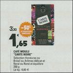 Bon Plan Café Moulu Carte Noire Sélection Honduras ou Brésil chez Leclerc - anti-crise.fr