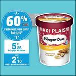 Bon Plan Crème Glacée Häagen-Daz chez Carrefour Market - anti-crise.fr