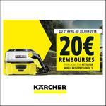 Offre de Remboursement Kärcher : 20 € Remboursés sur un Nettoyeur Mobile Basse Pression OC 3 K - anti-crise.fr