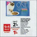 Bon Plan Sachet Repas Purina One chez Auchan - anti-crise.fr