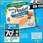 Bon Plan Blanc de Poulet Fleury Michon chez Cora (10/04 - 16/04) - anti-crise.fr