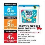 Bon Plan Lessive Super Croix Caps chez Carrefour Market (10/04 - 22/04) - anti-crise.fr
