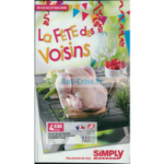 Catalogue Simply Market du 23 au 27 mai 2018