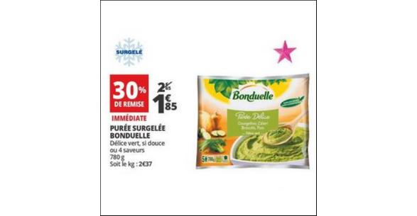 Bon Plan Purée Bonduelle Auchan - anti-crise.fr