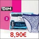 Bon Plan Culottes Coton Dim chez Carrefour Market - anti-crise.fr