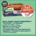 Bon Plan Steak Végétal Bonduelle chez Monoprix - anti-crise.fr