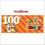 Offre de Remboursement King Jouet : 100€ Offerts dès 100€ d'Achats Smoby - anti-crise.fr