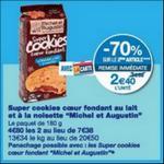 Bon Plan Cookies Michel et Augustin chez Monoprix - anti-crise.fr